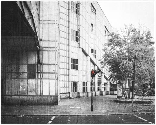 Hallesches Tor - Straßenübergang