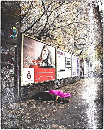 Obdachlosigkeit in Berlin