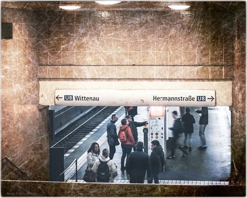 U-Bahn Sation Heinrich-Heine Str.