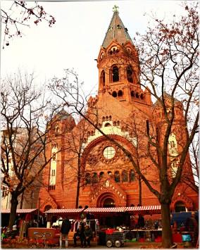 Heimstr. und drumherum / Passionskirche