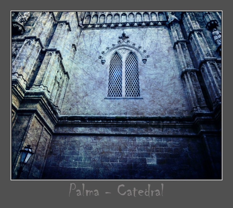 Palma Kathedrale - hier mal mit besonderem Licht