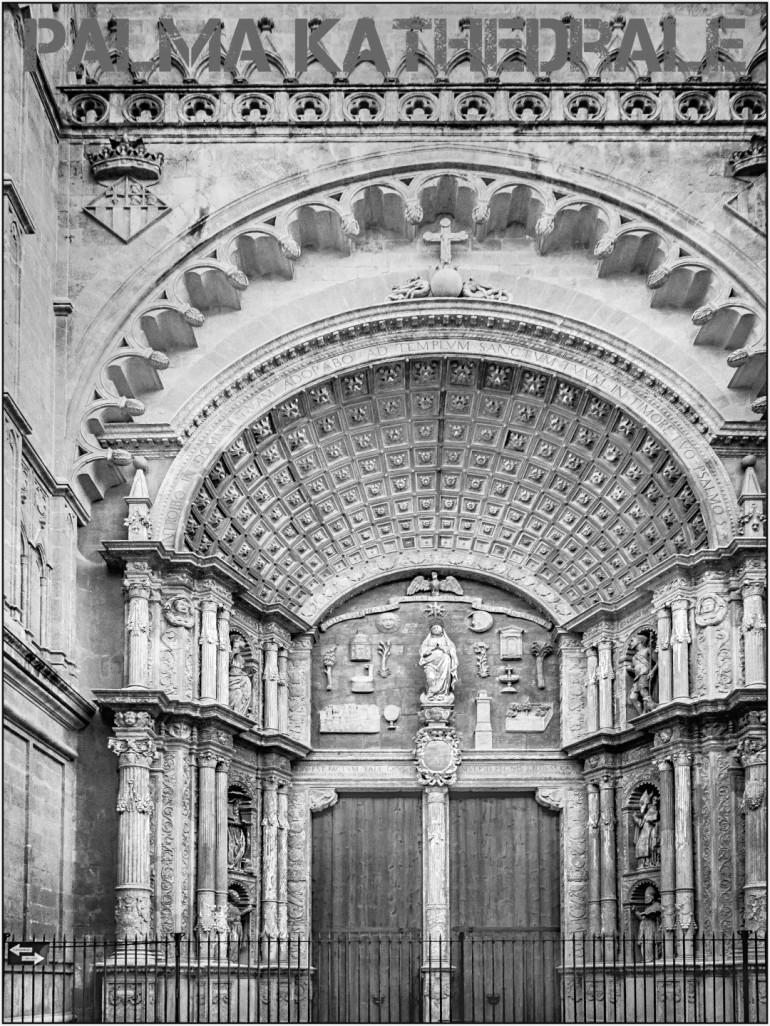 Palma Kathedrale - wunderschönes Eingangsportal