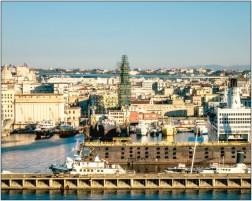 Blick auf Neapel / beim Anlegen