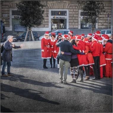 Fotoshooting des Weihnachtskollektives