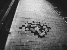 Tetris auf dem Bürgersteig