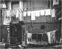 Die Wäsche wird getrocknet