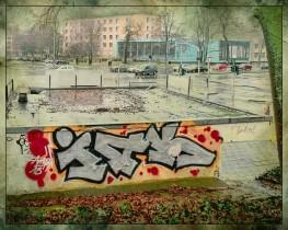 Blick vom Stadtwall auf das Landgericht