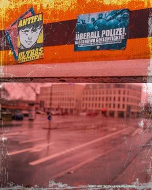 Blick vom Stadtwall auf das Arcaden-Center