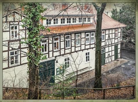 Blick vom Stadtwall Weinhandlung Bremer