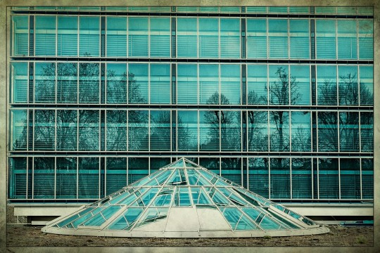 Volksbank Gebäude - von hinten besehen