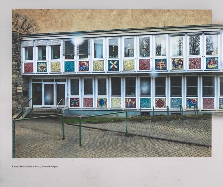 Blick in die Untere Königsstr. - Städtische Kindertagesstätte Sara-Nußbaum-Haussstr.