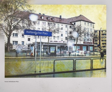 Straßenbahnhaltestelle