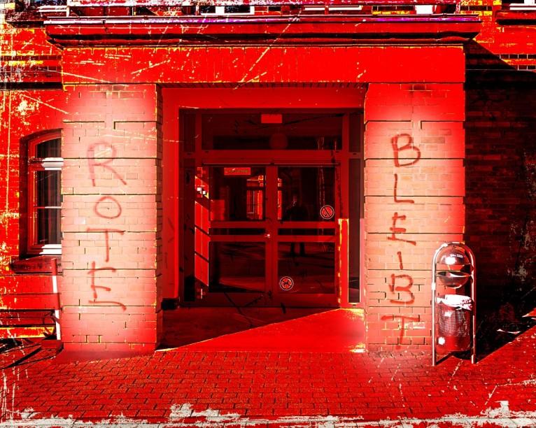 Philosophisches Seminar - Humboldtallee (mit Grafitti)
