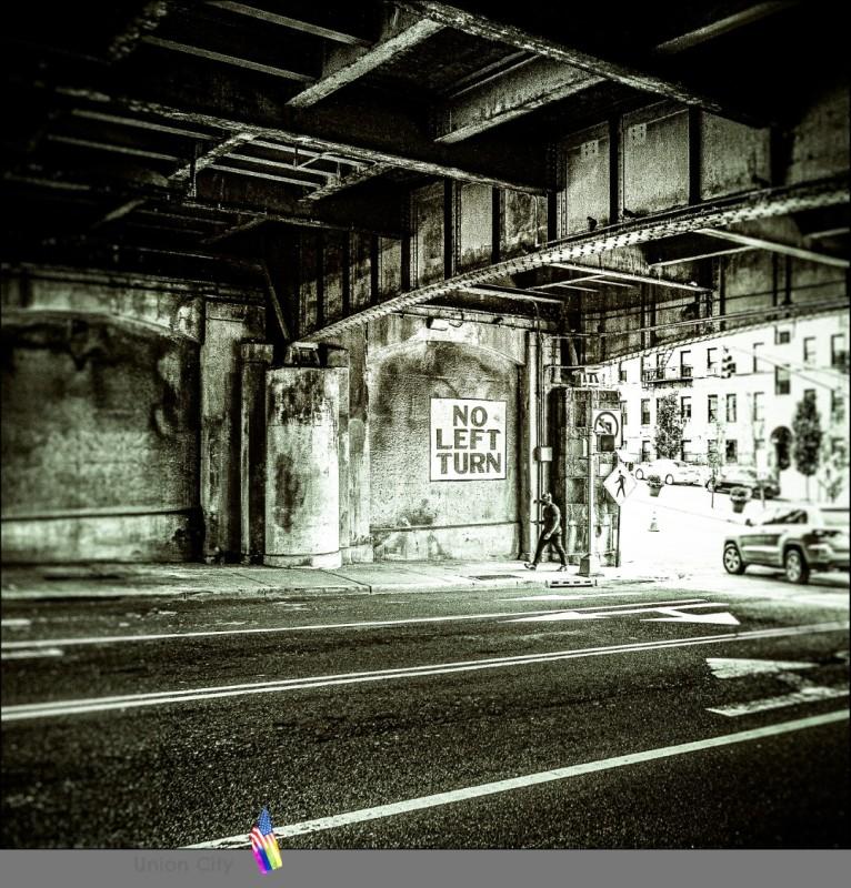 ....ab zum Lincolntunneln....Überfahrt nach Manhattan....