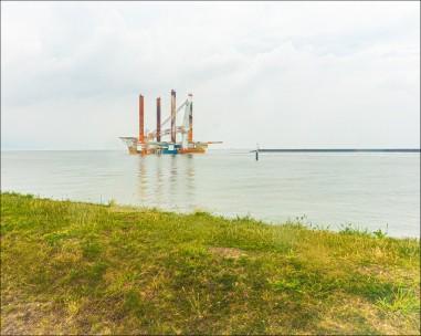 Hafengebiet Eemshaven