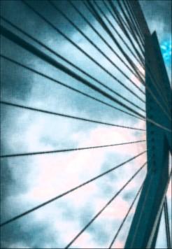 Brücke in Rotterdam - Impressionen